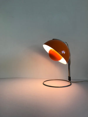 1960s Danish Verner Panton VP4 Flower Pot Table Lamp