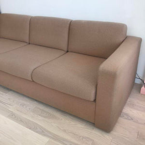 Vintage Latte Colored Ill for Herman Miller Sofa By Ward Bennett