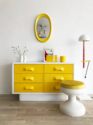 1970's Raymond Loewy Inspired 6-Drawer Dresser by Broyhill