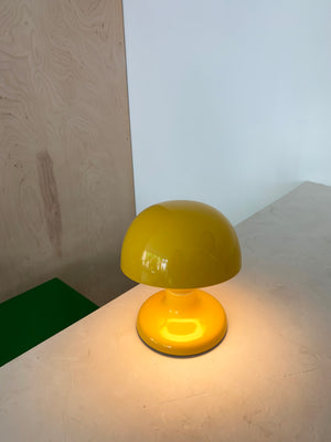 "Yellow 1963 ""Jucker"" Lamp by Tobia Scarpa for Flos, Italy"