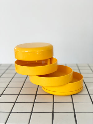 1970s Swivel Plastic Catch-All