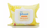 JOHNSON'S Hand & Face Wipes 25 Each (1 Pack)