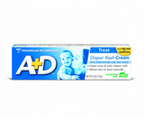 A+D Zinc Oxide Diaper Rash Cream with Aloe 4 oz (1 Pack)