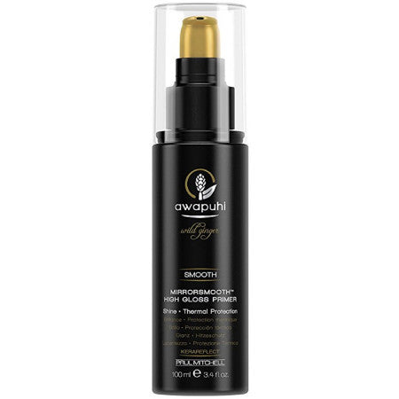 Paul Mitchell Awapuhi Wild Ginger Mirrorsmooth High Gloss Primer for Unisex 3.4 oz (1 Pack)