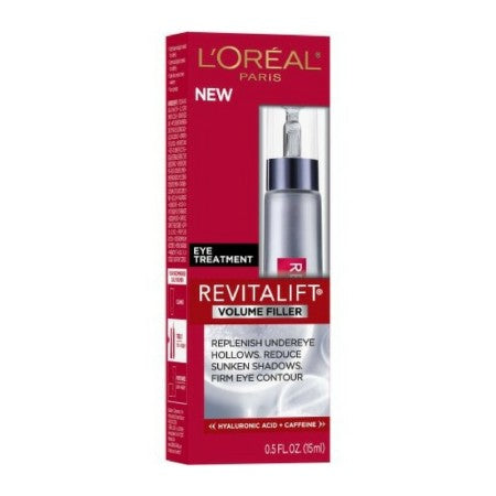 L'Oreal Paris Revitalift Volume Filler Eye Treatment 0.5 oz (1 Pack)