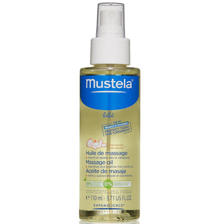 Mustela Baby Massage Oil 3.71 oz (1 Pack)