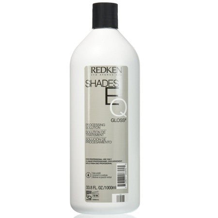 Redken Shades EQ Gloss Processing Solution 33.8 oz (1 Pack)