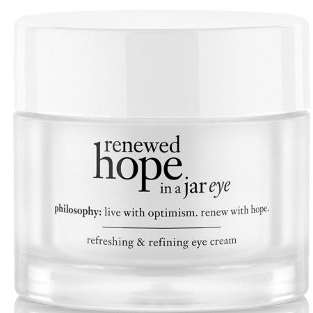 Philosophy  Renewed Hope in a Jar Eye Cream  0.5 oz (1 Pack)