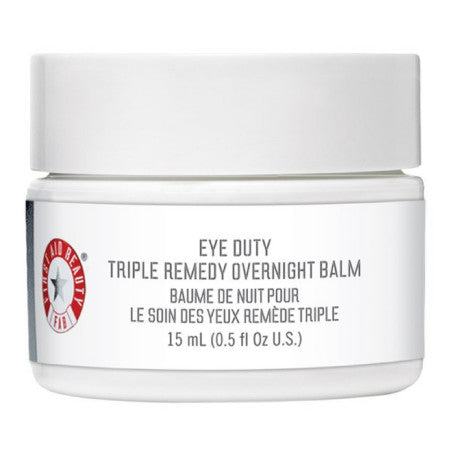 First Aid Beauty Eye Duty Triple Remedy Overnight Balm 0.5 oz (1 Pack)