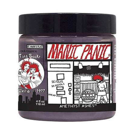 Manic Panic, Semi-Permanent Hair Color Amethyst Ash 4 oz (1 Pack)