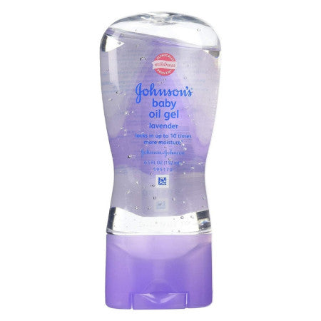 Johnson's, Baby Oil Gel, Lavender  6.5 oz (1 Pack)