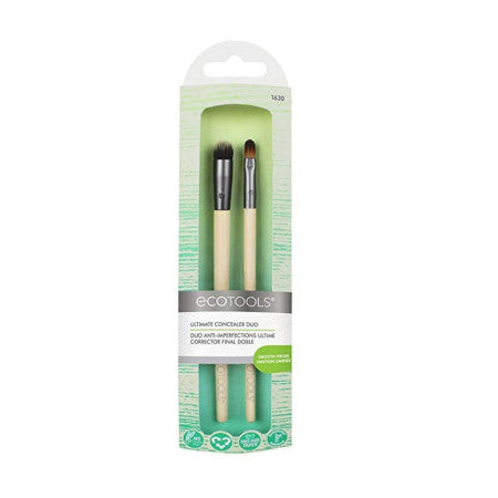 EcoTools, Ultimate Concealer Duo, 2 Brushes 1 ea (1 Pack)