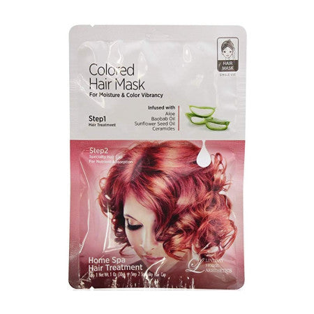 LINDSAY HOME AESTHETICS Color Hair Mask 1 oz (1 Pack)