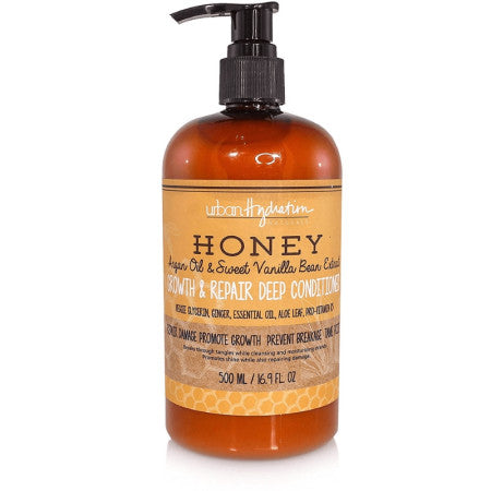 Urban Hydration, Honey Growth & Repair Deep Conditioner 16.9 oz (1 Pack)