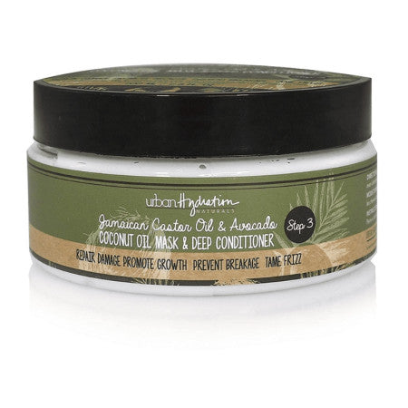 Urban Hydration, Jamaican Castor Oil & Avocado Mask & Deep Conditioner 6.8 oz (1 Pack)