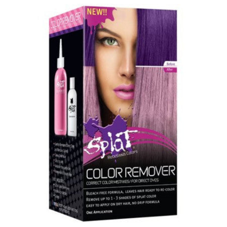 Splat Hair Color Remover, Direct Dye and Fantasy Colors 1 Ea (1 Pack)