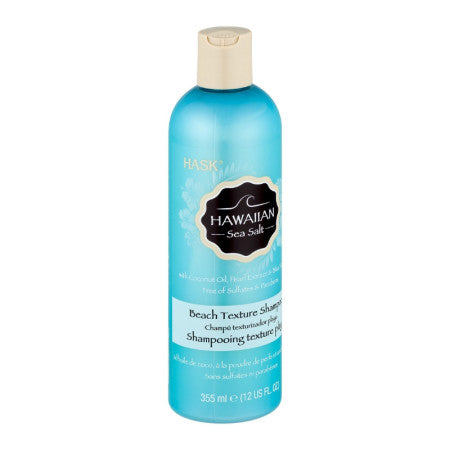 Hask Hawaiian Sea Salt Beach Texture Shampoo 12 oz (1 Pack)