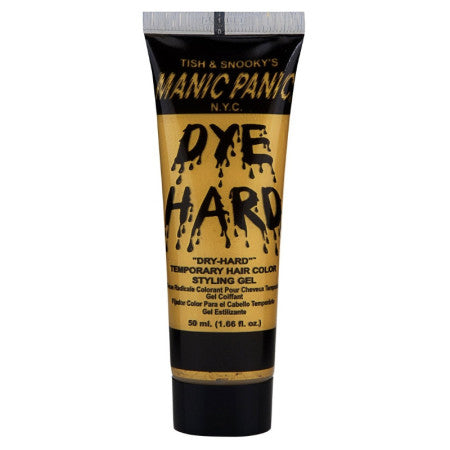 Manic Panic Temporary Hair Color Styling Gel, Glam Gold 1.66 oz (1 Pack)
