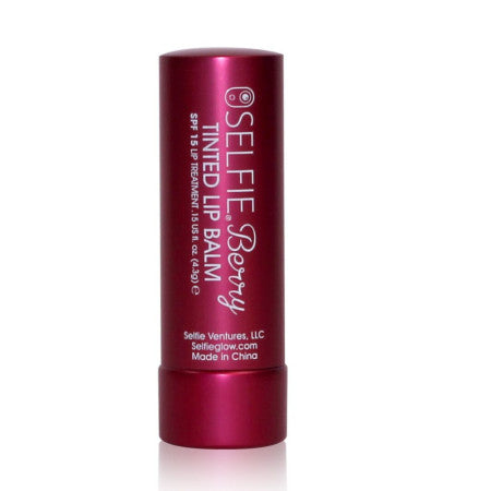 Selfie Tan 'N Go Selfie Berry Tinted Lip Balm 0.15 oz (1 Pack)