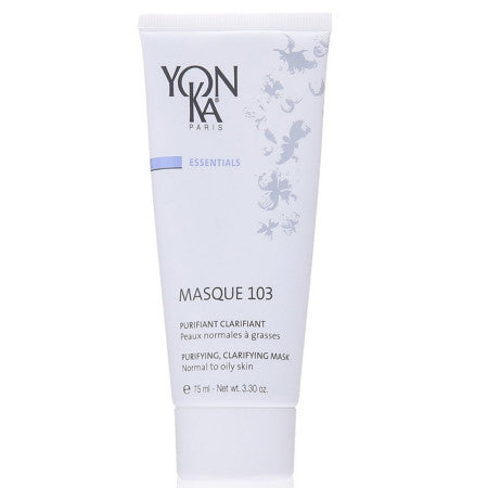 Yonka Masque 103 Purifying Clarifying Mask, Normal to Oily Skin 3.3 oz (1 Pack)