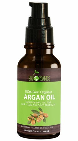 Sky Organics  Sky Organics Best Moroccan Argan Oil By Sky Organics: Unrefined - 4 OZ 1  ea (1 Pack)