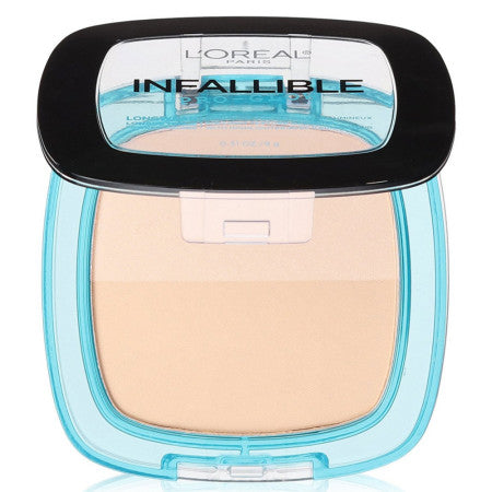 L'Oreal Paris Infallible Pro Glow Pressed Powder, Classic Ivory, 0.31 oz (1 Pack)
