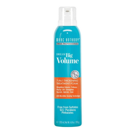 Marc Anthony Dream Big Volume 7-In-1 Thickening Foam, 6.8 oz  (1 Pack)