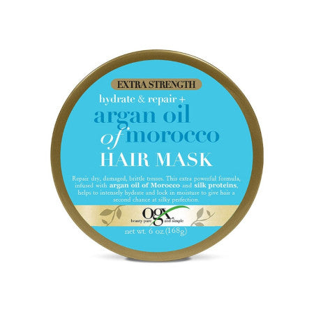 OGX Argan Oil Of Morocco Hydrate & Repair Hair Mask, 6 oz  (1 Pack)