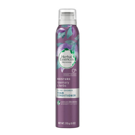 Herbal Essences Bio Renew Moisture Rosemary & Herbs Foam Conditioner, 6 oz (1 Pack)