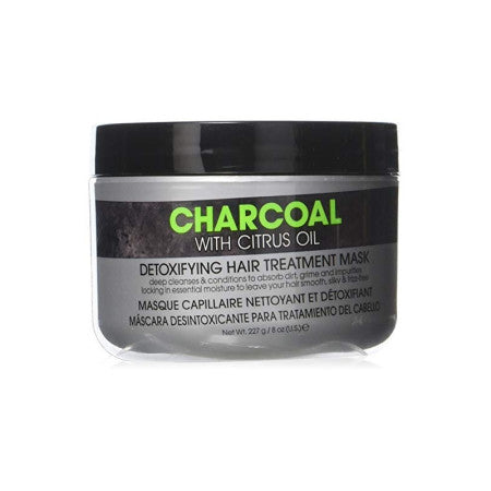 Hair Chemist Charcoal With Citrus Oil Detoxifying Hair Treatment Mask, 8 oz  (1 Pack)
