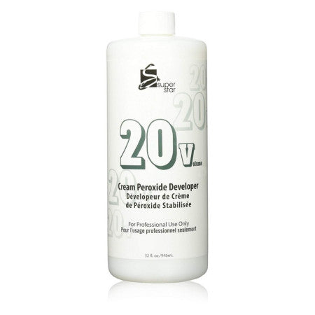 Superstar Cream Peroxide Developer, 32 oz (1 Pack)