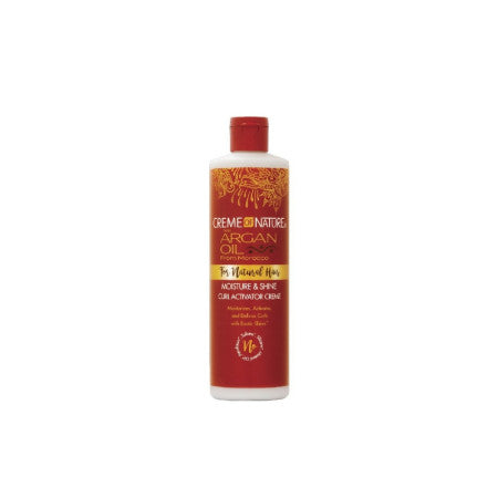 Creme of Nature with Argan Moisture & Shine Curl Activator Creme, 12 oz  (1 Pack)
