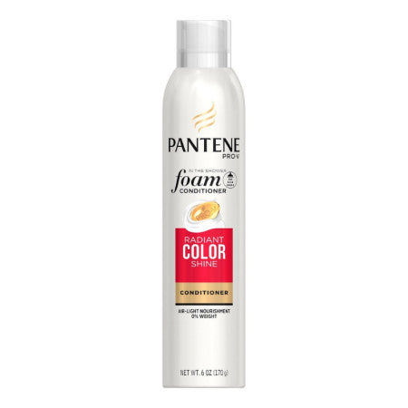 Pantene Radiant Colour Shine Foam Conditioner, 6 oz  (1 Pack)