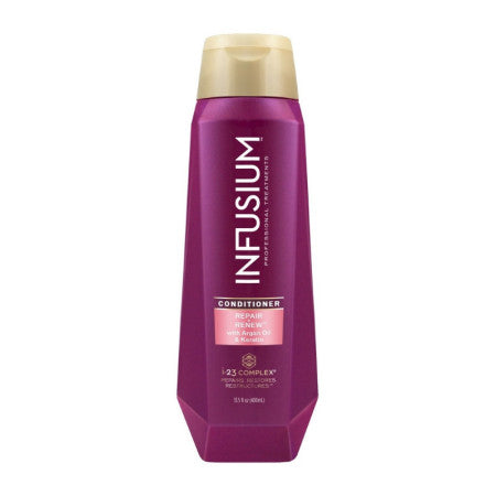 Infusium 23 23 Repair + Renew with Argan Oil & Keratin Conditioner, 13.5 oz  (1 Pack)