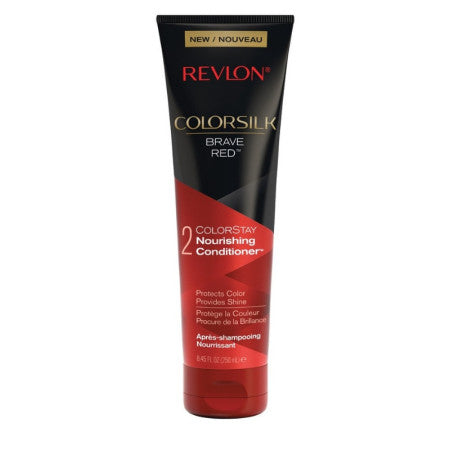 Revlon Colorsilk Color Care Conditioner, Red, 8.45 oz  (1 Pack)