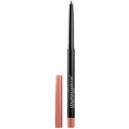 Maybelline Color Sensational Shaping Lip Liner, Totally Toffee, Nude Lip Liner, 1 ea (1 Pack)