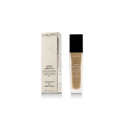 Lancome Teint Miracle Hydrating Foundation Natural Healthy Look SPF 15, #04 Beige, 1.0 oz  (1 Pack)