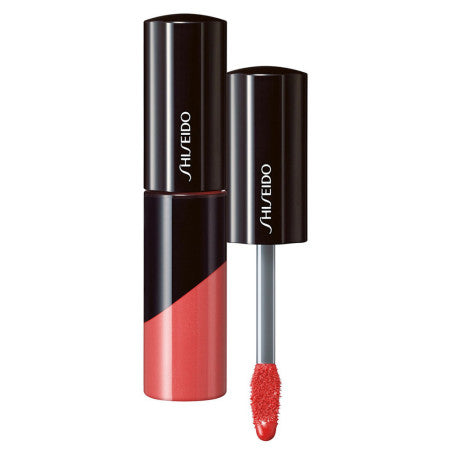 Shiseido Lacquer Gloss, [OR303] In the Flesh, 0.25 oz (1 Pack)
