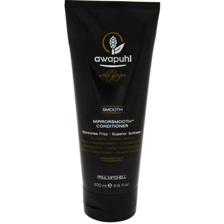 Paul Mitchell Awapuhi Wild Ginger Mirrorsmooth Conditioner for Unisex, 6.8 oz (1 Pack)