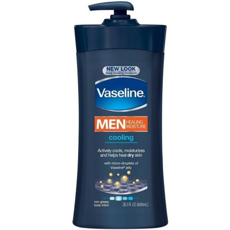 Vaseline Men Cooling Hydration Body Lotion 20.3 oz (1 Pack)