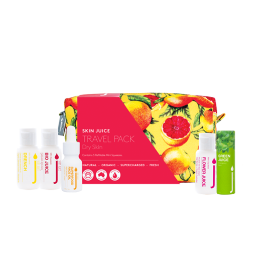 Skin Juice Dry Skin Travel Pack
