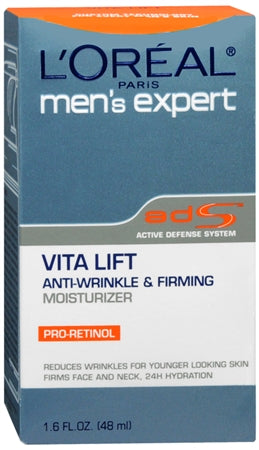 L'Oreal Men's Expert Vita Lift Anti-Wrinkle and Firming Moisturizer 1.60 oz (1 Pack)