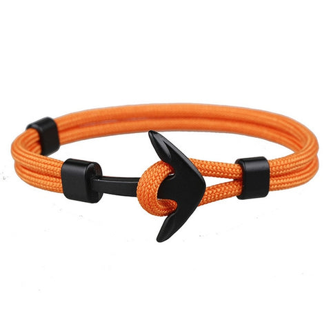 Black Anchor - Orange