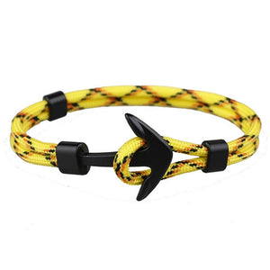 Black Anchor - Yellow