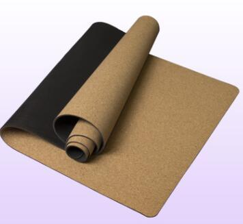 5mm Non-slip Cork Rubber Natural Yoga Mat - Living Thing