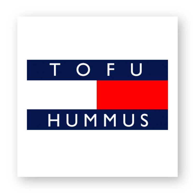 'Tofu Hummus' - Sticker - Living Thing