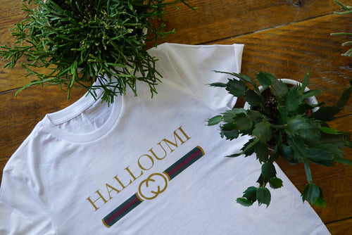 'Halloumi' - T-Shirt - Living Thing