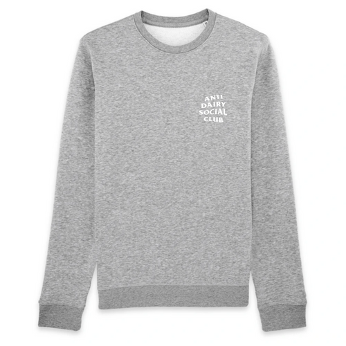 'Anti Dairy Social Club' - Sweatshirt - Living Thing