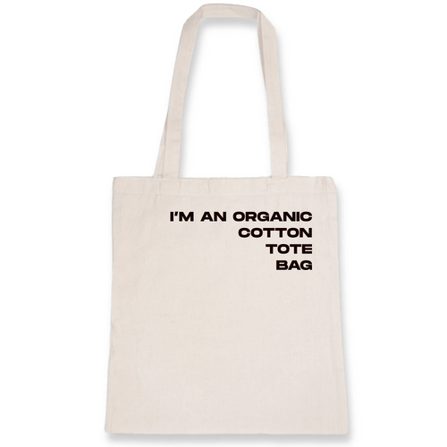 'Organic Cotton' Tote - Living Thing