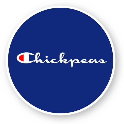 'Chickpeas' - Sticker - Living Thing